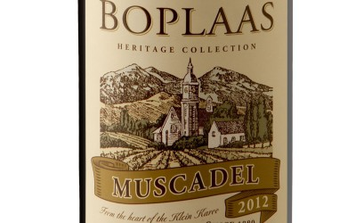 Gold for Boplaas Heritage Muscadel