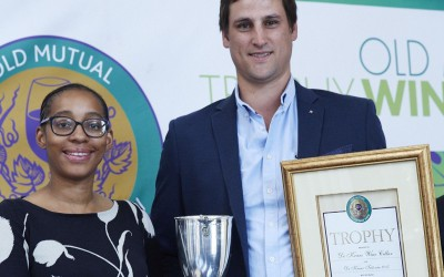 Best Red Blend for De Krans at 2017 Old Mutual Trophy Wine Show