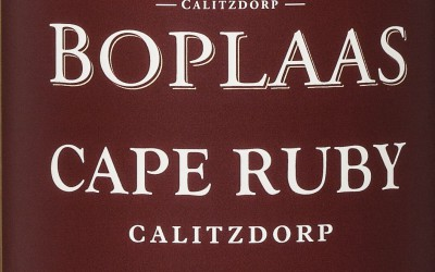 Boplaas Cape Ruby Port outshines all