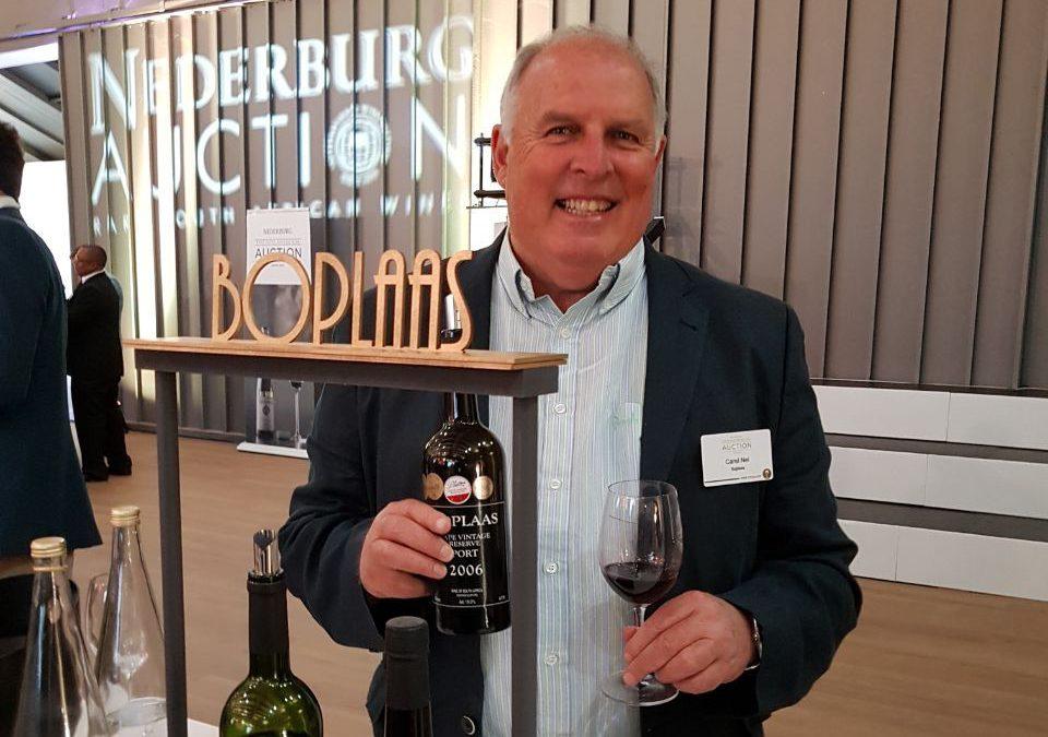Boplaas achieves top prices at Nederburg