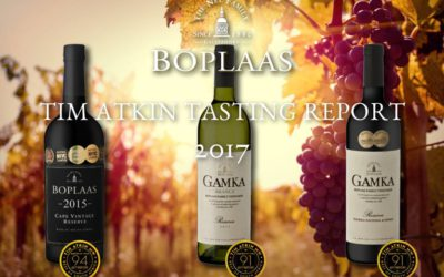 Top ratings for Boplaas from Tim Atkin