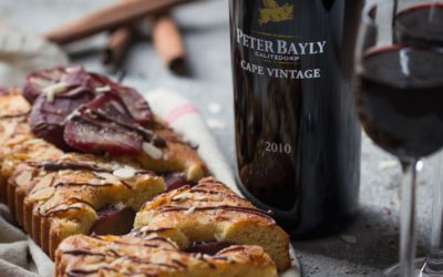 Pear Tart with Peter Bayly Port