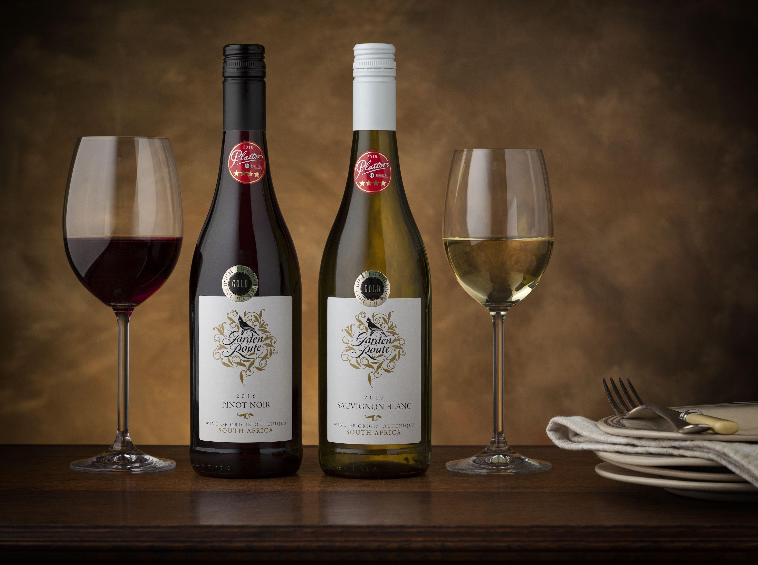 Garden Route: Sauvignon Blanc and Pinot Noir - Klein Karoo Wines