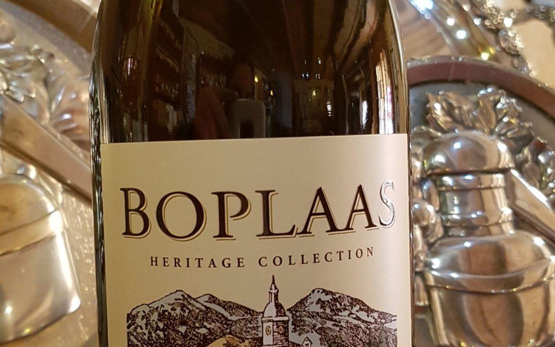 Golden Boplaas Heritage White Muscadel 2013