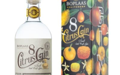 New Eight Citrus Gin by Boplaas
