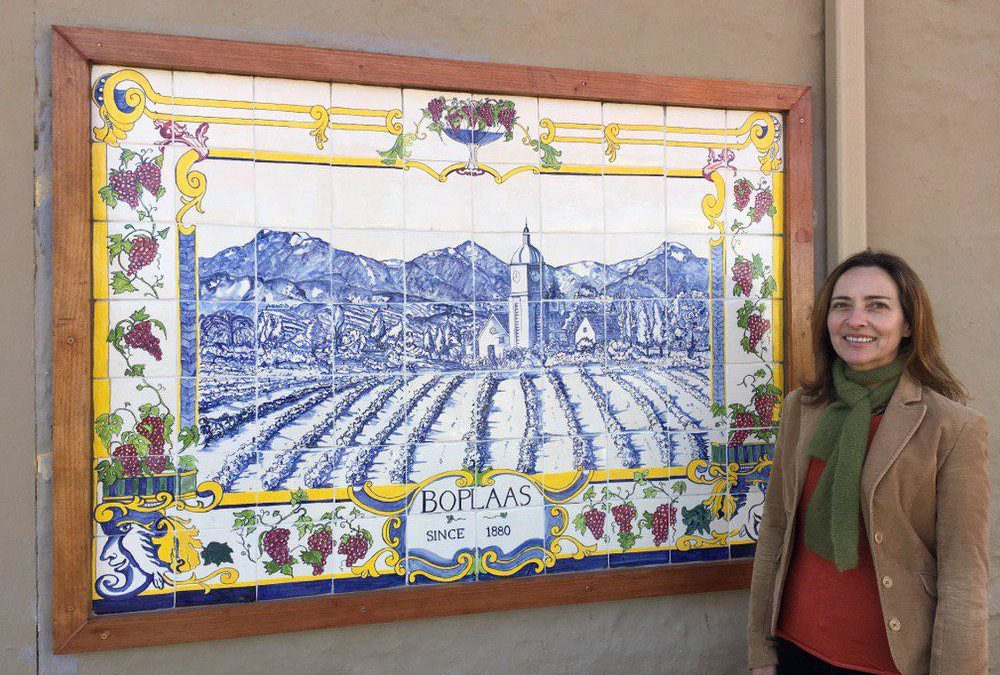 Boplaas displays traditional Azulejo tiles