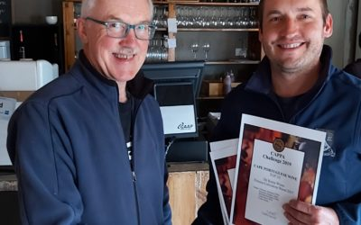 De Krans victorious at 2019 CAPPA Challenge