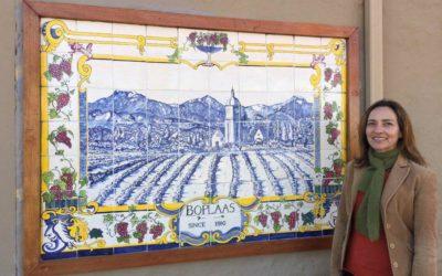 Boplaas displays traditional Azulejo tiles