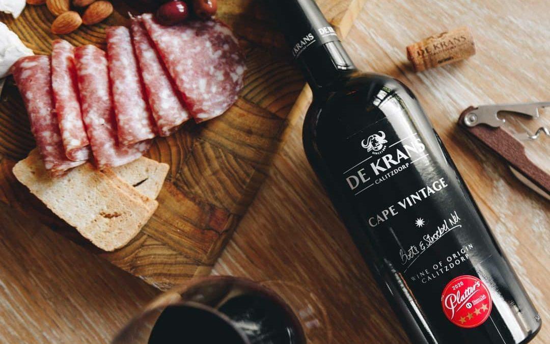 The versatility of De Krans port-style wines